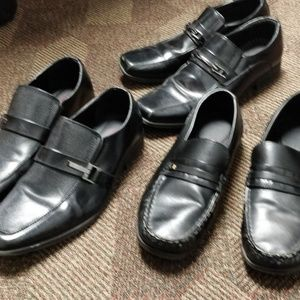 3 pairs of dress shoes for boys